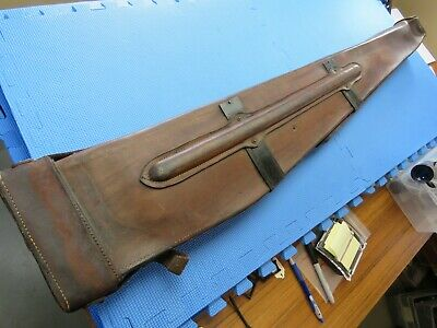 Wwii Ww2 Browning Bar Automatic M1918 A1 A2 Leather Case Rifle Scabbard