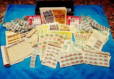 REDUCED!! **HUGE LOT!!** VINTAGE S&H Green Stamps - An Entire Shoebox Full!!!