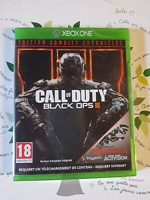 Jeux Xbox One Call of Duty Black Ops 3 edition Zombies Chronicles