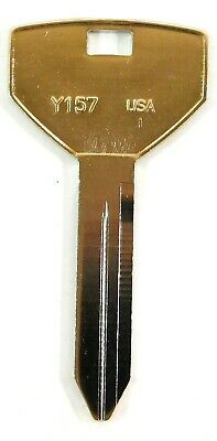 Taylor Nickel Plated Chrysler Key Blanks CHR94 Y157-NP (50 Pieces)