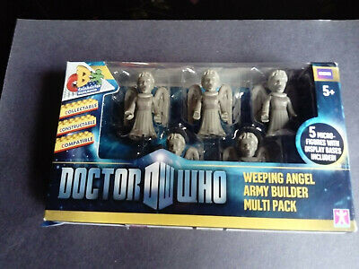 Character building - Doctor Who - Weeping Angel Army builder multi pack - BBC