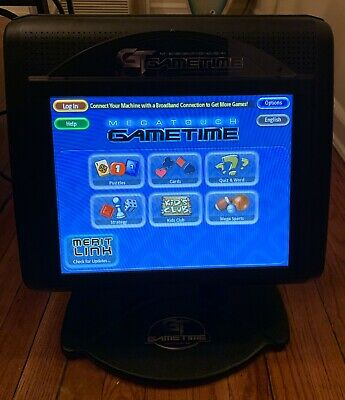Megatouch GameTime Bartop Arcade Game Touchscreen Tested (G20-109-001) [CLEAN]