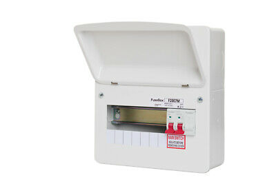 Fusebox F1006M 6 Way RCBO Consumer Unit without SPD