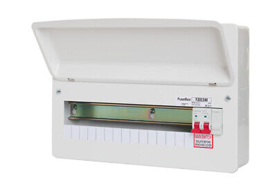 Fusebox F1014M 14 Way RCBO Consumer Unit without SPD