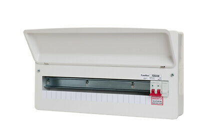 Fusebox F1020M 20 Way RCBO Consumer Unit without SPD