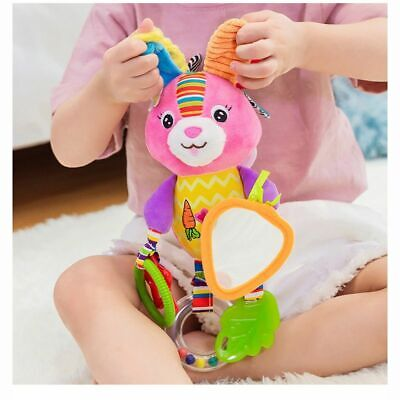 Baby Rattles Toys Stroller Hanging Soft Toy Cute Animal Doll Baby Crib Bed Bells