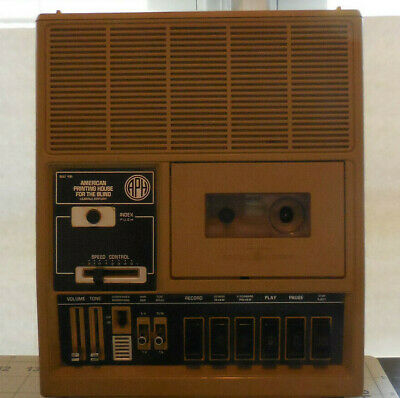 General Electric 3-5194A Printing House For The Blind Cassette Player