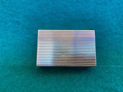 Nice  Vintage Sterling Silver 925 Pill Snuff Box.
