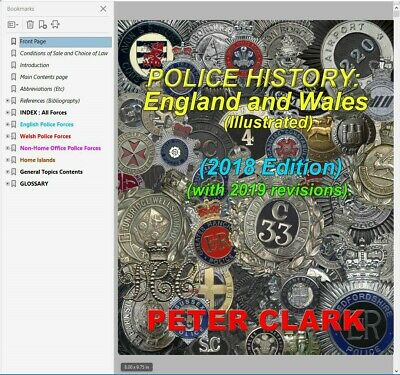 Police History: England and Wales (illustrated) digital book. SPECIAL REDUCED