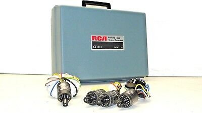 RCA Picture Tube Tester WT-333B CR III Vintage Tested