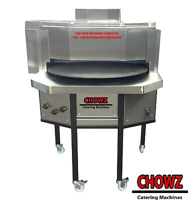 """Commercial Automatic Rotary Tandoor Oven/ Roti Naan Oven 30"""" Disc"""
