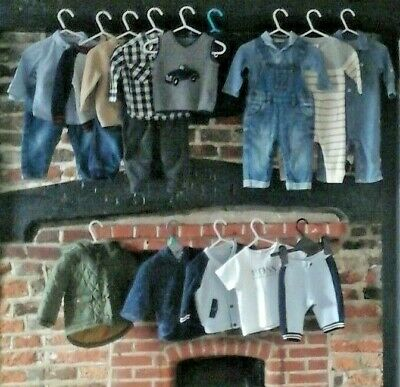 Baby boys 3-6 months clothes bundle Hugo Boss Next Gap mix & match outfits