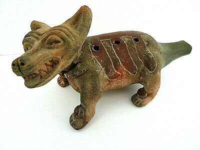 Pre Colombian Dog Whistle From The Harvey Sarner Collection 500-600 AD