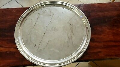 """TIFFANY & CO Sterling Silver 12"""" Tray  #21153 Just Over 22 oz (2019221)"""