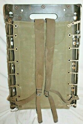 WWII 1944 US Army USMC Military RADIO MAN'S FIELD BACK PACK RACK~AMMO TOTER BASE