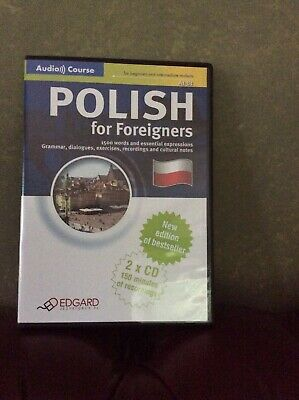 Polish For Foreigners Audio Course 2 Cds. Edgard, ISBN 9788361828471