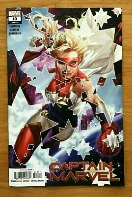 Captain Marvel # 10 2019 Mark Brooks Main Cover 1st Print Marvel Comics NM