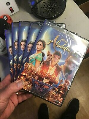 ALADDIN 2019 WILL SMITH DVD Movie- Brand New & Sealed- Fast Shipping!