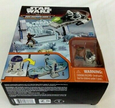 Star Wars The Force Awakens Micro Machines R2-D2 R2 D2 Playset.