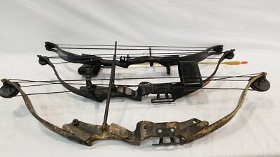 Lot of 3 Youth Archery Compound Bows