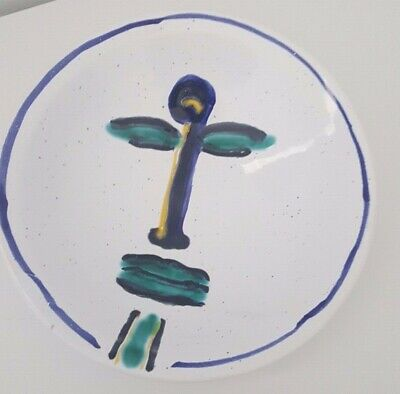 Hand-Painted Beautiful Decorative Plate Made In Sardegna, Italy