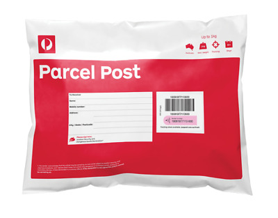 10x 1KG GENUINE AUSTRALIA POST PREPAID SATCHEL (( GST Inv Can Be Issued ))