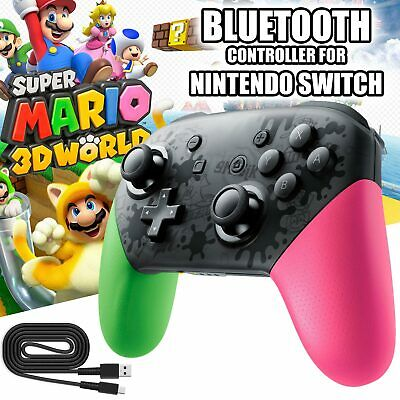 Wireless Bluetooth Pro Game Controller Splatoon for Nintendo Switch Console PC