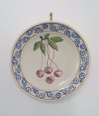 Beautiful Hand-Painted Decorative Plate Made In Italy
