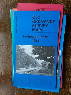 Old Ordnance Survey Map Erdington East 1913