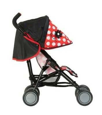 Silver Cross Pop Dolls Pushchair - LIMITED EDITION Red Polka Dot