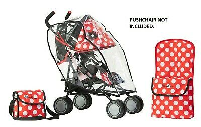Silver Cross Pop Universal Dolls Accessory Pack - LIMITED EDITION Red Polka Dot