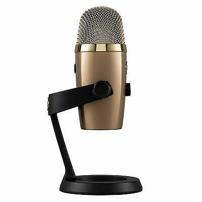 Blue Yeti Nano Premium USB Mic Microphone Streaming Music Podcast Gaming GOLD