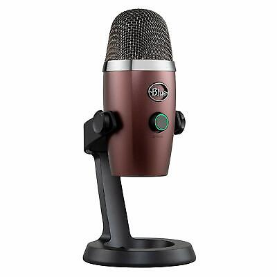 Blue Yeti Nano Premium USB Mic Microphone Streaming Music Podcast Gaming - RED