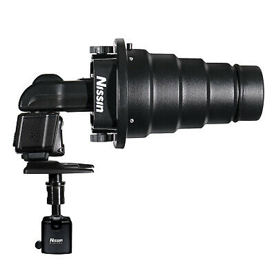 Nissin Light Shaping Kit Includes Snoot, Beauty Dish & Honeycomb Grid - NFG021