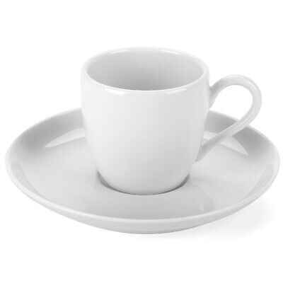 NEW Pillivuyt Cecil Espresso Cup and Saucer Set 2pce