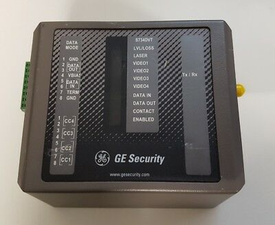 GE Security S734DVT-EST1 Four-Channel Video and Multi-Protocol Data