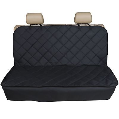 RANGE ROVER EVOQUE 2011-ON  - Premium Quilted Pet Hammock Rear Seat Cover
