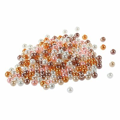 200PCS 5MM Bright Pears Spacer Loose Beads Jewelry Making multicolor M2P3