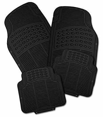 HYUNDAI COUPE 2002 ON - Premium Universal Rubber Car Mats Heavy Duty 4pcs