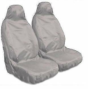 PEUGEOT 206CC 1998-2006 - Heavy Duty Grey Waterproof Car Seat Covers - 2 Fronts