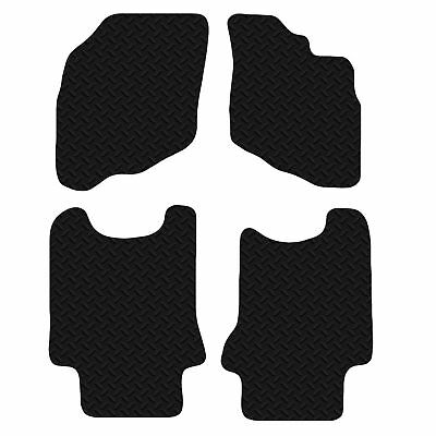 PEUGEOT 206CC (1998-2006) - Black Floor Durable Rubber Fully Tailored Car Mats