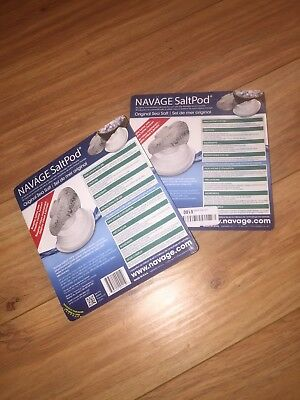Navage Salt Pods 60CT (For Use in the Navage Nasal System) NEW & SEALED Saltpod