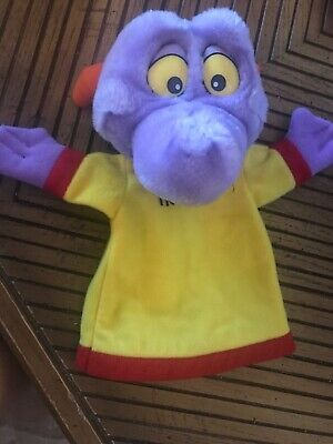 Vintage 1982 Walt Disney World Disneyland Figment Dragon Plush Hand Puppet