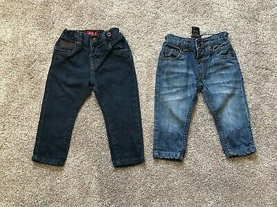 2 x NEXT BABY BOYS JEANS AGE 6-9 MONTHS