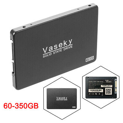 Vaseky Disque Dur Interne 2.5 SSD Solid State Drive 60/120/240/350G SATA III 3