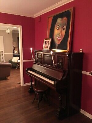 Antique Upright Sterling Piano Circa 1896 - Buy A Piece of History!