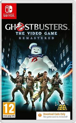 Ghostbusters The Video Game Remastered (Switch) In Stock New Sealed UK PAL