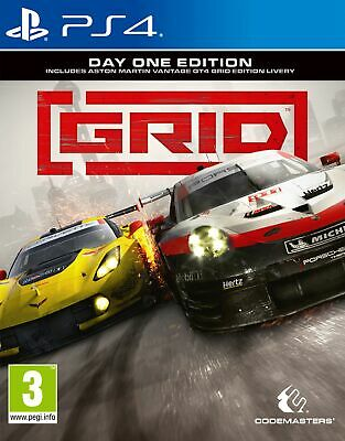 GRID: Day One Edition (PS4) Brand New & Sealed UK PAL Free UK P&P