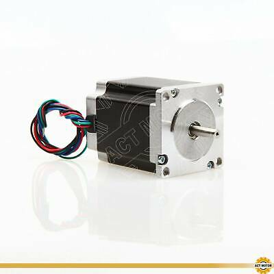 October Sale! 1PC Nema23 Schrittmotor 23HS8430 3A 76mm 1.9Nm φ6.35mm Bipolar