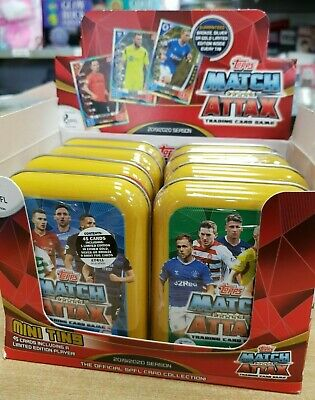 Topps Match Attax SPFL Scottish Premiership Trading Cards Mini Tins 2019/2020